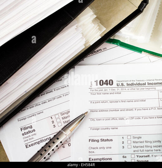 1040 tax form stock photos 1040 tax form stock images for 1040 line 28 tax table
