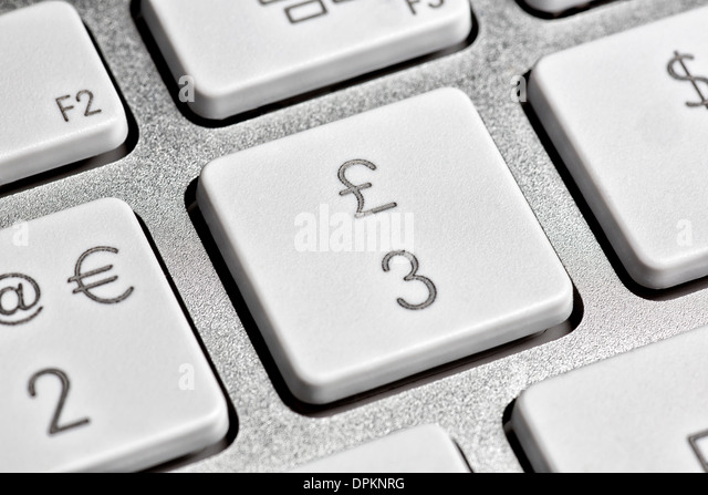 how to get the pound symbol on a keyboard
