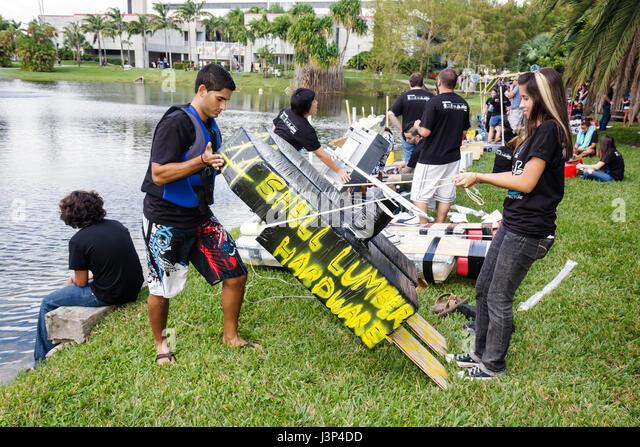 Miami Florida Florida International University FIU Walk On Water  Competition School Of Architecture Major Students