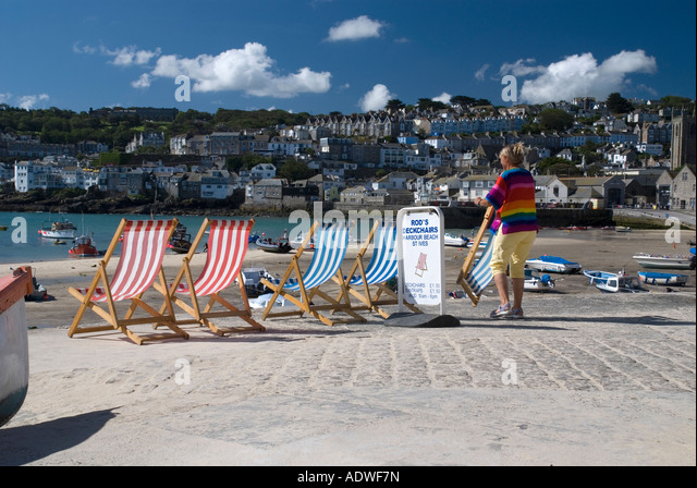 St Ives Cornwall Painting Stock Photos Amp St Ives Cornwall