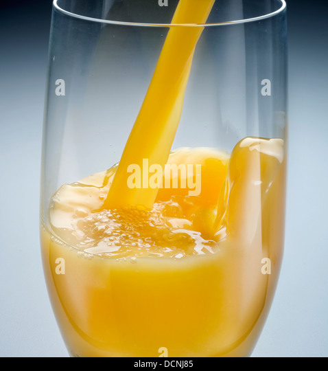 Pour juice stock photos pour juice stock images alamy for Wine and orange juice name