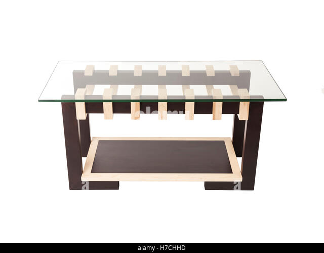 Modern Coffee Table Office Furniture On A White Background
