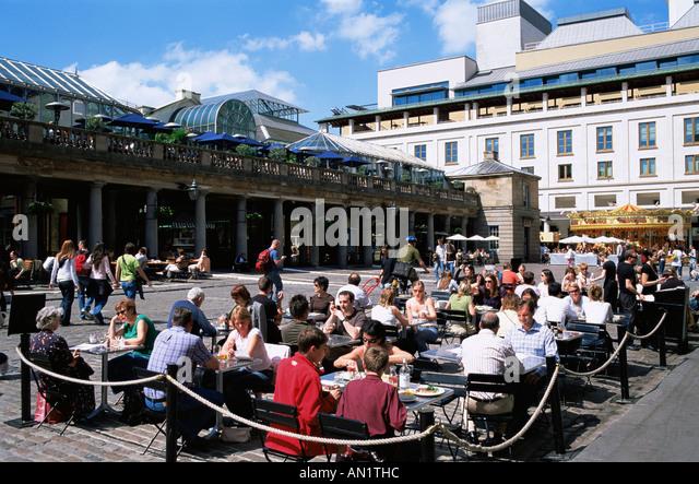 EnglandLondonOutdoor Restaurants In Covent Garden