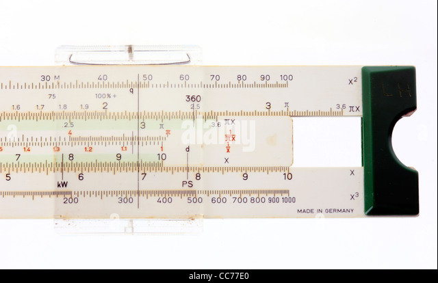 mathematics symbols stock photos mathematics symbols stock  mathematics helper tool slide rule sliding rule stock image