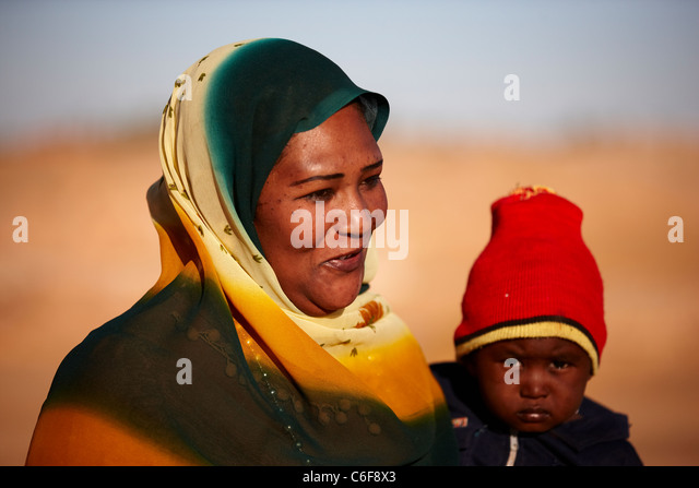 Six sudanese mother annick