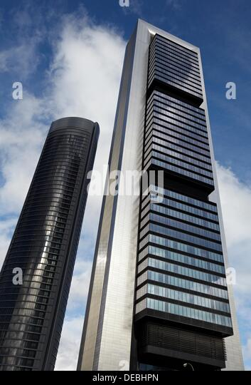 repsol tower and eurostars madrid tower hotel ctba cuatro torres business area madrid