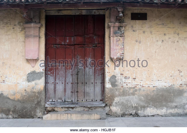 Colonial time stock photos colonial time stock images for Outer wall design architecture