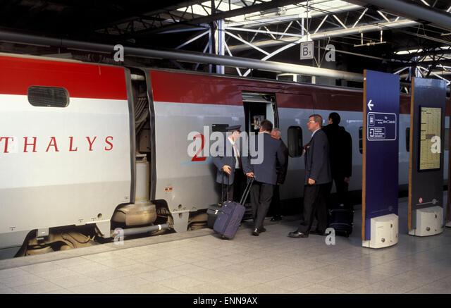 Thalys stock photos thalys stock images alamy for Bd du jardin botanique 50 bruxelles