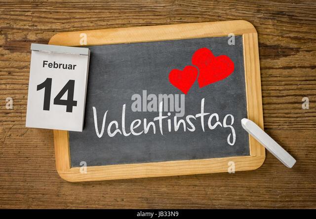 Am 14. Februar Ist Valentinstag   Stock Image