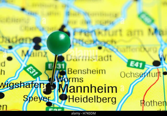 Mannheim City Photos Mannheim City Images Alamy – Manheim Germany Map