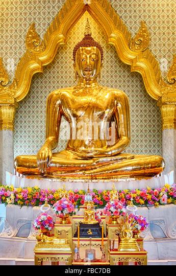 Temple Of The Golden Buddha Bangkok Stock Photos & Temple Of The Golden B...