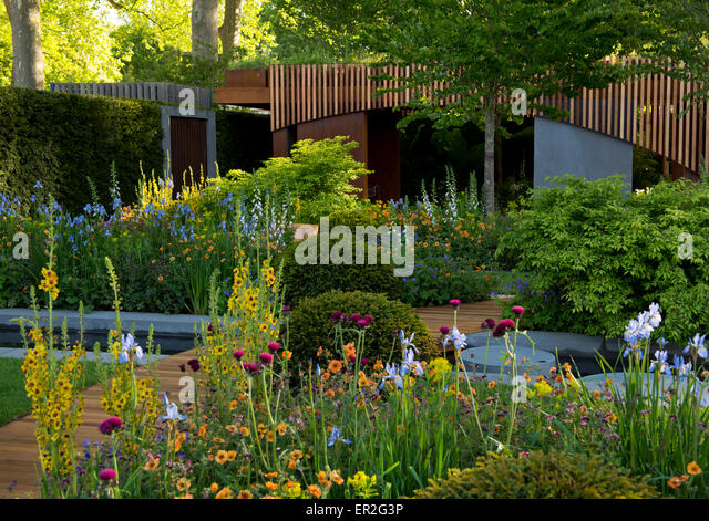 The Homebase Urban Retreat Garden Winner Of A Gold Medal In The Show Gardens  Category At
