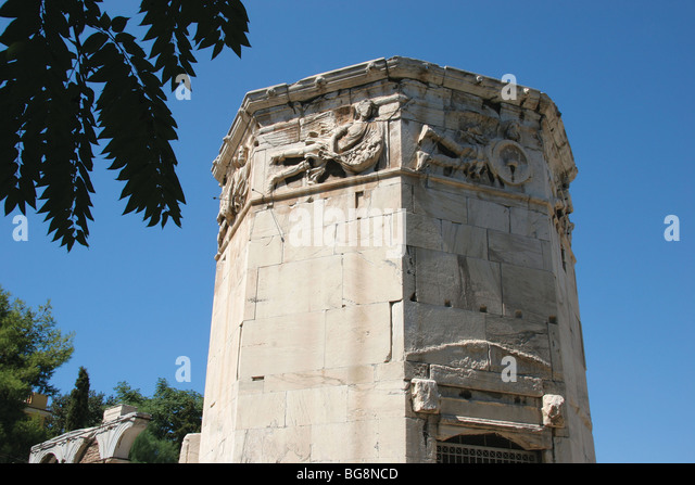 the water clock in the tower of the winds essay The tower of the winds  an enormous water clock was housed inside, fed every 24hrs by a stream running down from the acropolis  american essays 1 american .