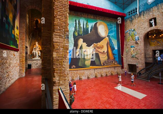 Figueres Dali Museum Gala Stock Photos & Figueres Dali ...