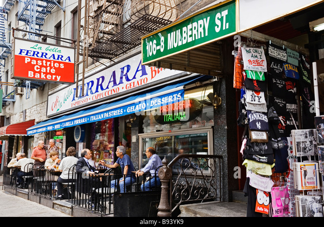 Cafe Roma Mulberry St New York Ny