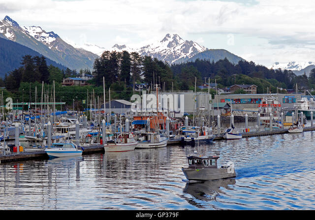 Sitka harbor stock photos sitka harbor stock images alamy for Sitka alaska fishing