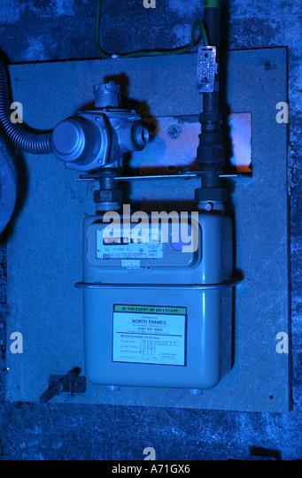 gas meter england uk stock photos gas meter england uk stock images