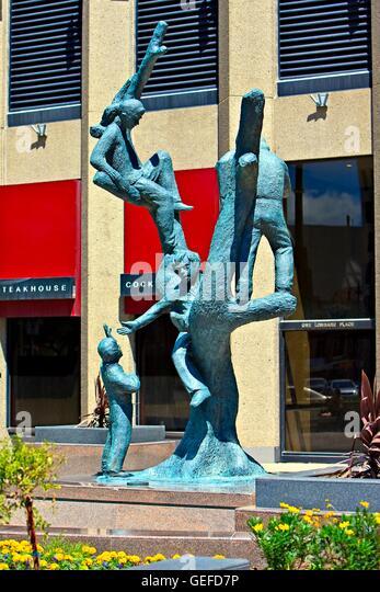Sculpture Canadian Metal Art Stock Photos Sculpture