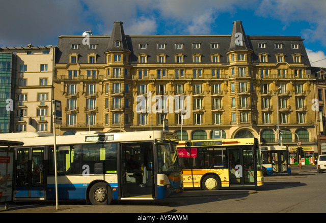 luxembourg gare stock photos luxembourg gare stock images alamy. Black Bedroom Furniture Sets. Home Design Ideas