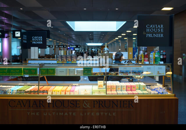Caviar house and prunier stock photos caviar house and for Seafood bar zurich