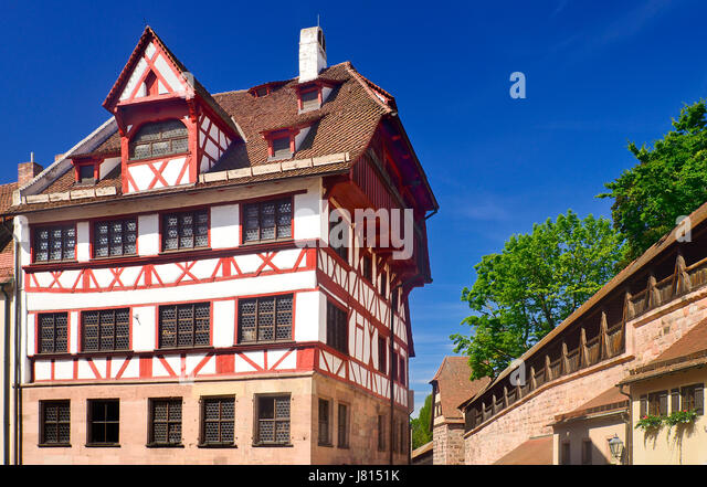 Germany Bavaria Nuremberg Albrecht Durer Haus Home Of The German Renaissance Artist
