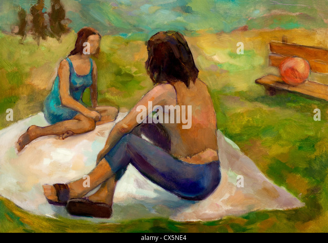 Paintings Like Seurat S Picnic