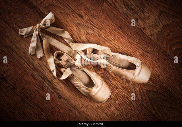worn ballet shoes stock photos amp worn ballet shoes stock