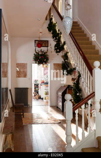 Hallway House Stairs Stock Photos amp