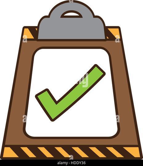 Checklist Cartoon Stock Photos & Checklist Cartoon Stock ...