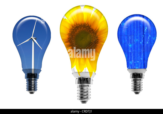 Bulbs Ecofriendly Eco Friendly Environmentally Stock Photos Bulbs Ecofriendly Eco Friendly
