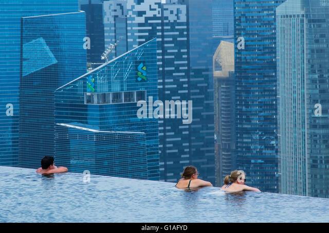Marina Bay Sands Hotel And Pool Stock Photos Marina Bay Sands Hotel And Pool Stock Images Alamy