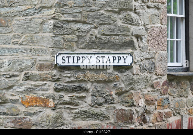 Quirky street sign stock photos quirky street sign stock for 27 the terrace st ives for sale