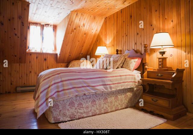Shabby Chic Bedroom Stock Photos Shabby Chic Bedroom
