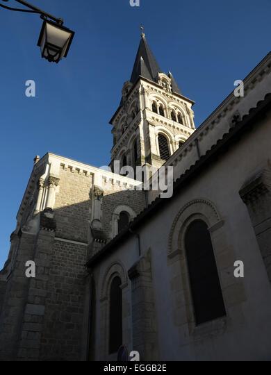 Saint-Genis-Laval France  city images : ... Catholique Saint Genis Laval Rhone Alpes France Stock Image