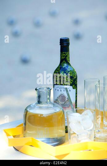 pastis bottle stock photos pastis bottle stock images alamy. Black Bedroom Furniture Sets. Home Design Ideas