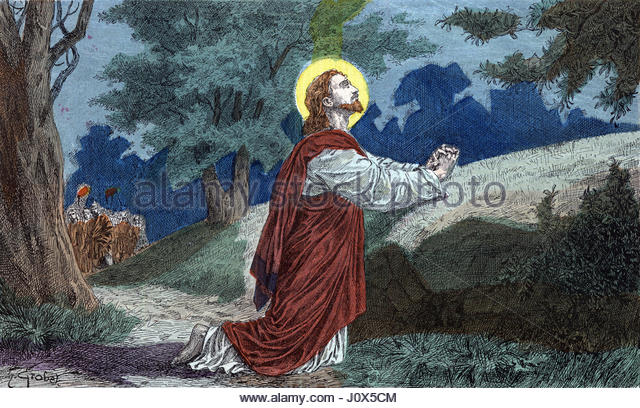 Bible character stock photos bible character stock for Au jardin des oliviers