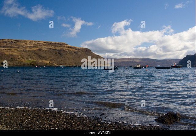 Sound Of Raasay Portree Stock Photos Sound Of Raasay