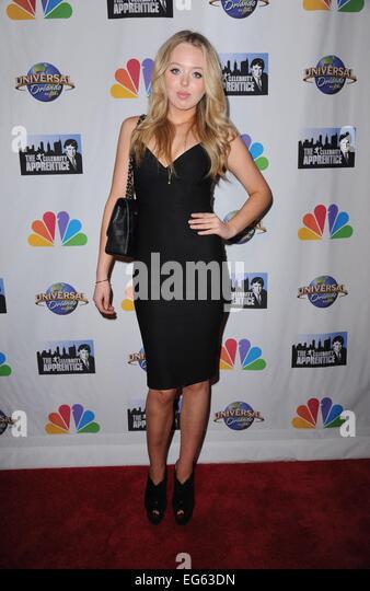New York, NY, USA. 16th Feb, 2015. Tiffany Trump in attendance for THE CELEBRITY APPRENTICE Season Finale Post-Show - Stock Image