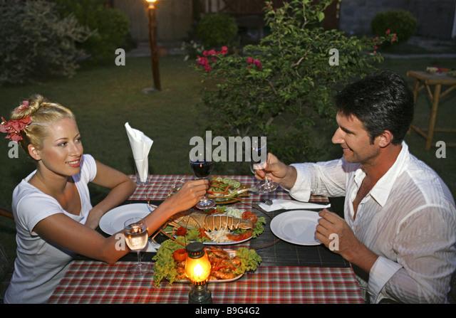 Opulent dinner stock photos opulent dinner stock images for Fish 2 flirt