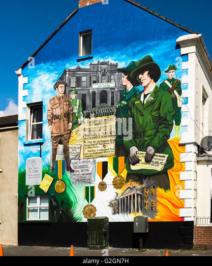 Easter rising stock photos easter rising stock images for Easter rising mural