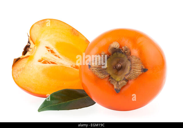 kaki persimmon stock photos kaki persimmon stock images alamy. Black Bedroom Furniture Sets. Home Design Ideas