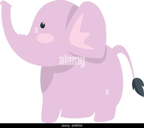 Baby Elephant Stock Vector Images - Alamy
