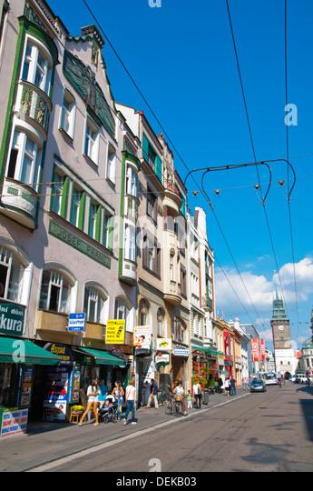 privat pardubice czech streets