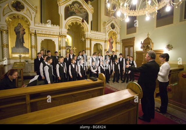 Catholic Church Choir Stock Photos & Catholic Church Choir ...