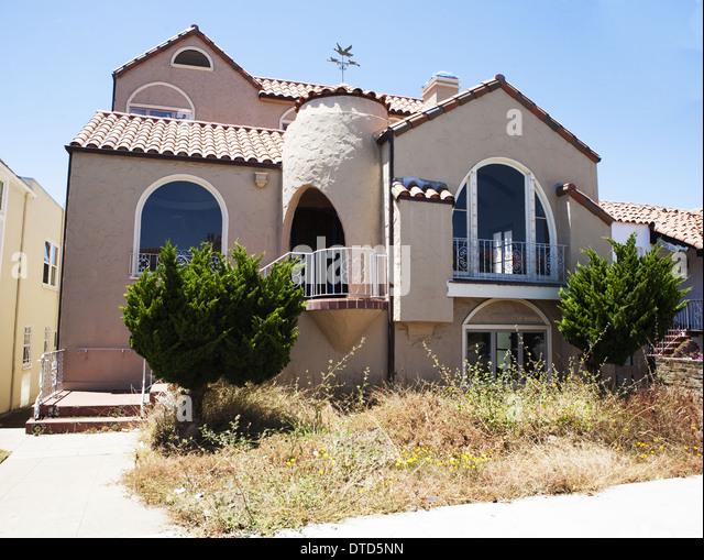 Spanish Style House California Stock Photos Spanish