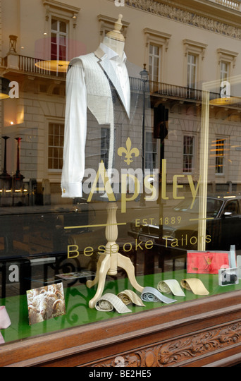 Bespoke Tailors Shop London Stock Photos & Bespoke Tailors ...