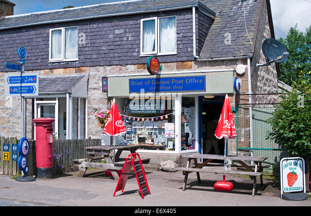 Garten shop  Boat Of Garten Scotland Stock Photos & Boat Of Garten Scotland ...