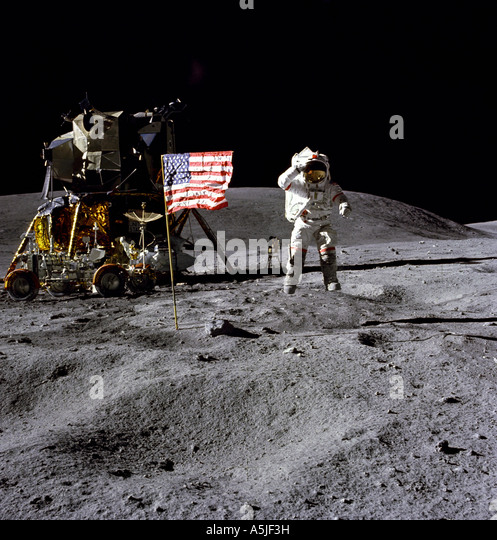 astronauts jumping on the moon - photo #30