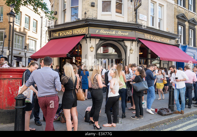 Ravishing Covent Garden Pub Stock Photos  Covent Garden Pub Stock Images  With Exquisite People Drinking Outside The Round House Pub In Garrick Street Covent Garden  London With Delightful Premium Garden Sheds Also Royal Opera Covent Garden In Addition St Ives Sculpture Garden And Where To Buy Dirt For Garden As Well As Garden Angel Statues Additionally Fairy Ornaments For Garden From Alamycom With   Exquisite Covent Garden Pub Stock Photos  Covent Garden Pub Stock Images  With Delightful People Drinking Outside The Round House Pub In Garrick Street Covent Garden  London And Ravishing Premium Garden Sheds Also Royal Opera Covent Garden In Addition St Ives Sculpture Garden From Alamycom