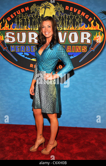 Parvati Shallow Survivor Heroes Vs Villians Finale And Reunion Held At The Ed Sullivan
